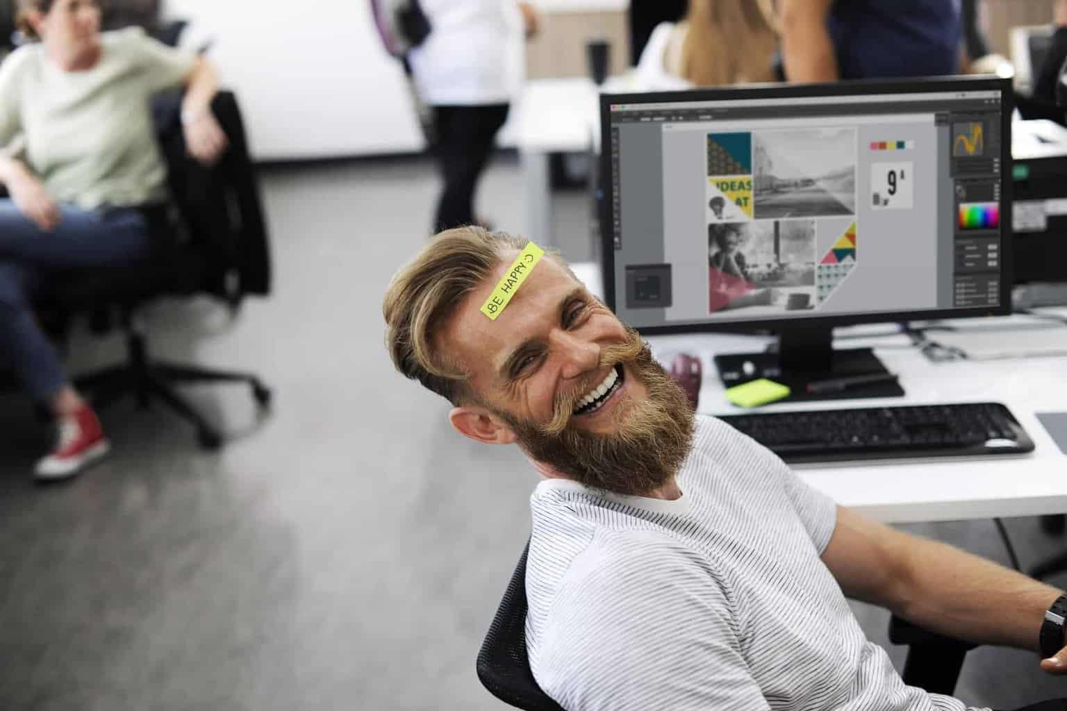 Essere felici al lavoro è possibile