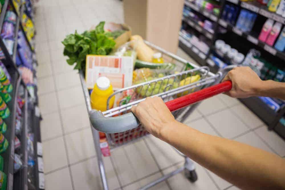 La cassa prioritaria per disabili al supermercato