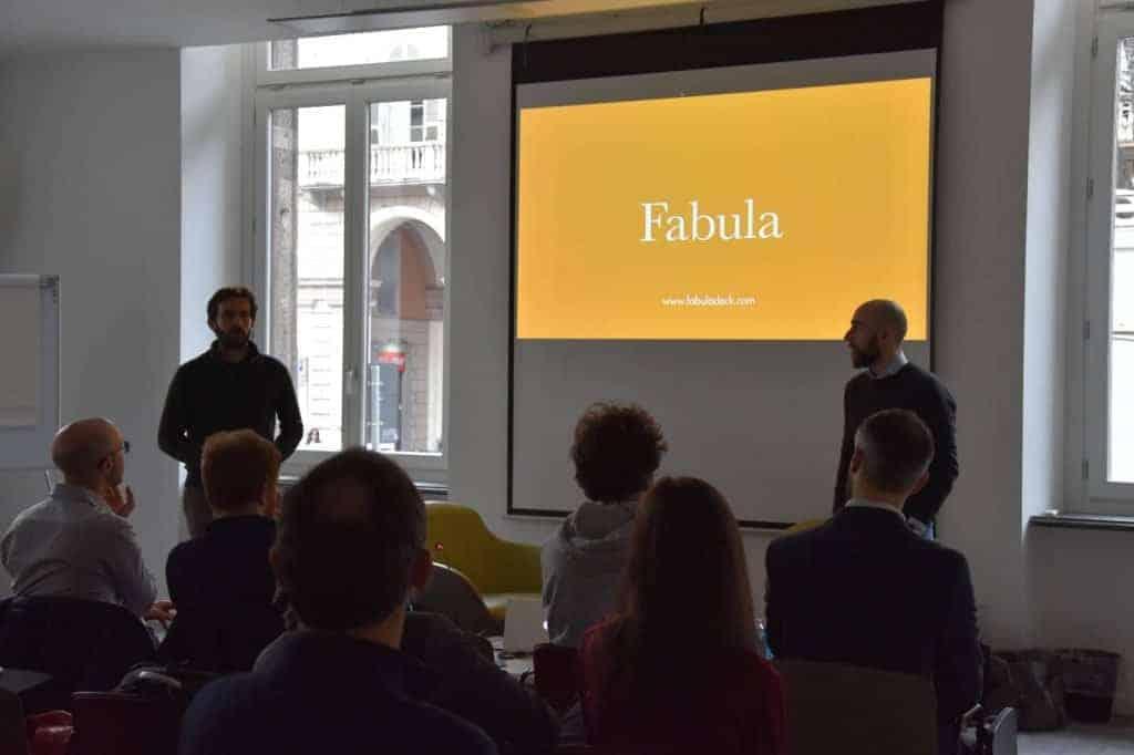 Presentazione di Fabula da parte di Andrea Binasco e Matteo Pascale