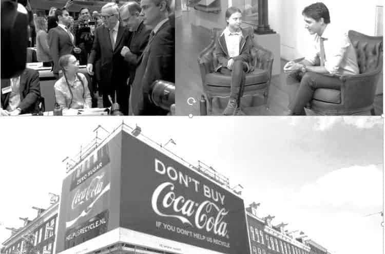 Greta Thunberg Coca-Cola