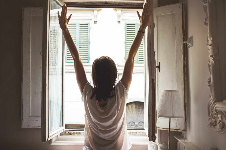Alzarsi la mattina
